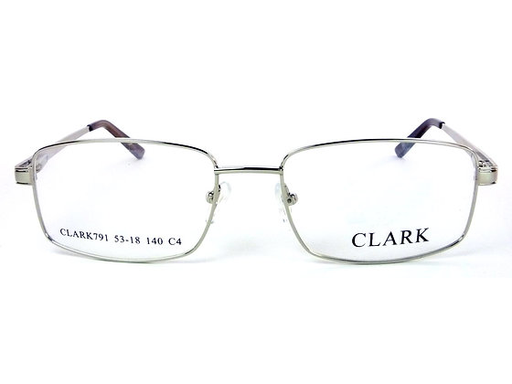 Montatura vista  CLARK 791  040  53  18  con lenti protezione LUCE BLU