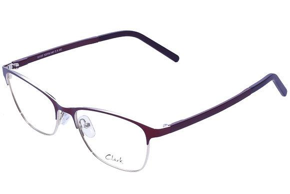 Montatura vista CLARK 1107 003 52 16  completo di lenti da vista antiriflesso