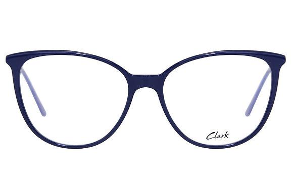 Montatura vista  CLARK 1067  006  53  16  con lenti protezione LUCE BLU