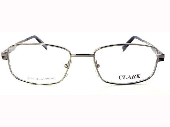 Montatura vista  CLARK 670  030  52  18  con lenti protezione LUCE BLU
