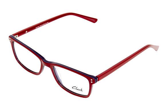 Montatura vista CLARK 1165 002 49 16  completo di lenti da vista antiriflesso