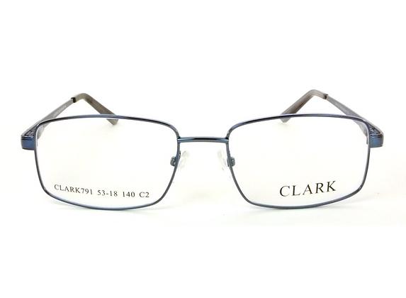 Montatura vista CLARK 791 020 55 18  completo di lenti da vista antiriflesso