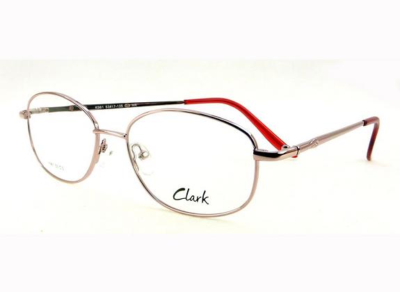 Montatura vista CLARK 961 003 53 17  completo di lenti da vista antiriflesso