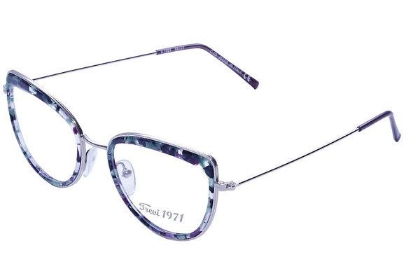 Montatura vista  CLARK 1097  030  56  17  con lenti protezione LUCE BLU