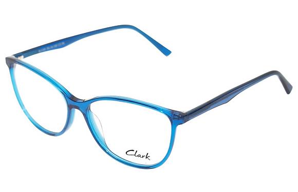 Montatura vista  CLARK 1195  003  50  19  con lenti protezione LUCE BLU