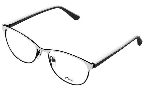Montatura vista  CLARK 1103  005  53  17  con lenti protezione LUCE BLU