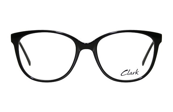 Montatura vista CLARK 1192 001 55 18  completo di lenti da vista antiriflesso