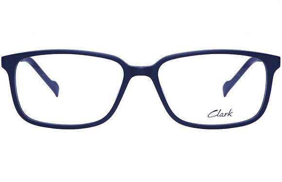 Montatura vista CLARK 1132 001 55 15  completo di lenti da vista antiriflesso