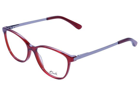 Montatura vista CLARK 1105 004 54 15  completo di lenti da vista antiriflesso