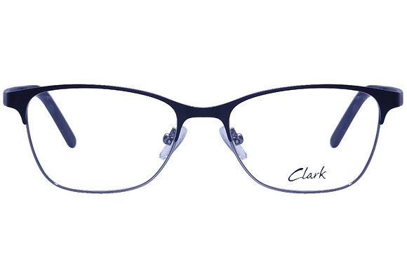 Montatura vista  CLARK 1107  001  52  16  con lenti protezione LUCE BLU