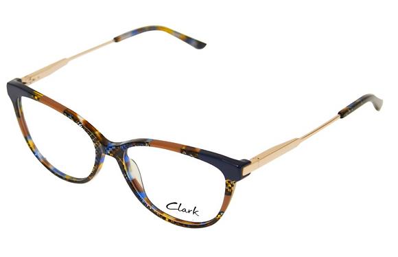 Montatura vista CLARK 1178 002 53 15  completo di lenti da vista antiriflesso