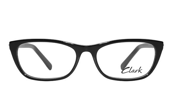 Montatura vista  CLARK 1211  001  51  16  con lenti protezione LUCE BLU