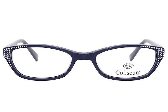 Montatura vista  COLISEUM CL179  006  52  17  con lenti protezione LUCE BLU