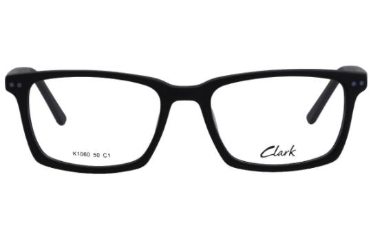 Montatura vista  CLARK 1060  001  50  17  con lenti protezione LUCE BLU
