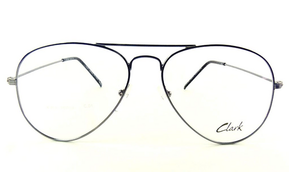 Montatura vista CLARK 914010 58 14  completo di lenti da vista antiriflesso