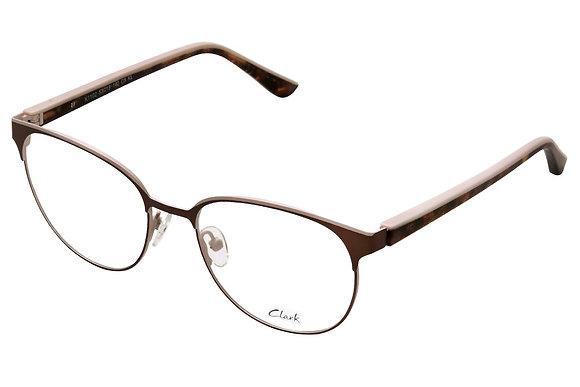 Montatura vista  CLARK 1102  005  53  18  con lenti protezione LUCE BLU