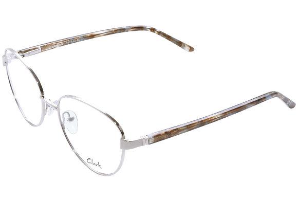 Montatura vista CLARK 1074 002 52 17  completo di lenti da vista antiriflesso