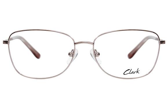 Montatura vista  CLARK 1167  001  53  16  con lenti protezione LUCE BLU