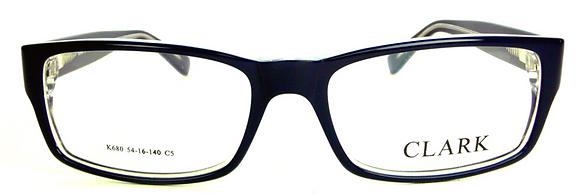 Montatura vista CLARK 680 005 54 16  completo di lenti da vista antiriflesso