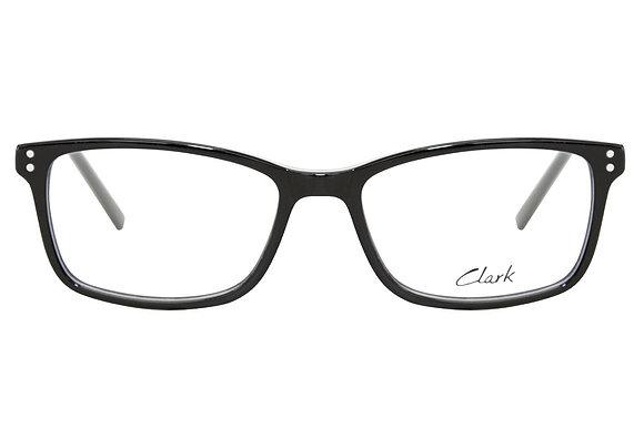 Montatura vista  CLARK 1165  001  49  16  con lenti protezione LUCE BLU