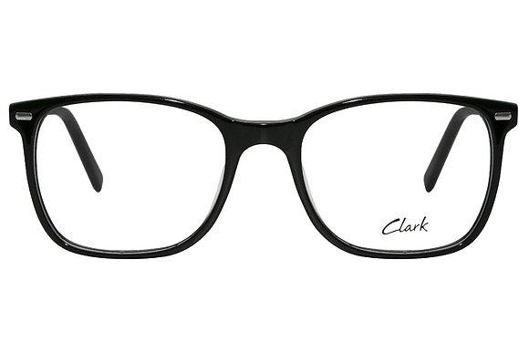 Montatura vista  CLARK 1146  001  54  19  con lenti protezione LUCE BLU
