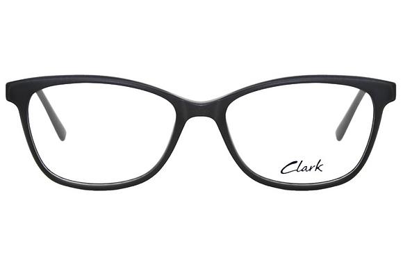 Montatura vista  CLARK 1166  001  49  16  con lenti protezione LUCE BLU
