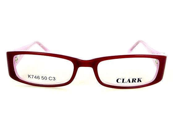 Montatura vista CLARK 746 003 50 17  completo di lenti da vista antiriflesso