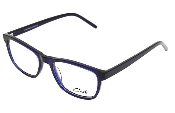 Montatura vista  CLARK 1184  003  54  19  con lenti protezione LUCE BLU