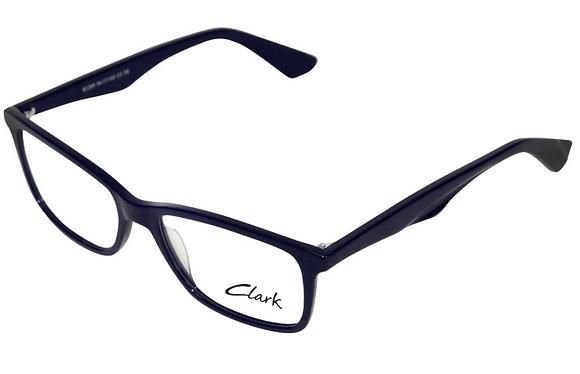 Montatura vista  CLARK 1209  003  54  17  con lenti protezione LUCE BLU