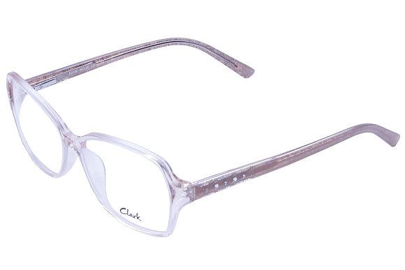 Montatura vista  CLARK 1076  002  54  14  con lenti protezione LUCE BLU