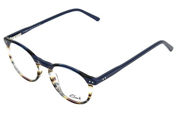 Montatura vista CLARK 1069 006 48 20  completo di lenti da vista antiriflesso