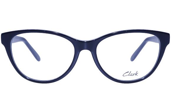 Montatura vista CLARK 1117 001 52 16 completo di lenti da vista antiriflesso