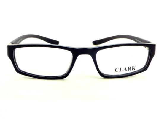 Montatura vista  CLARK 874  001  52  19  con lenti protezione LUCE BLU