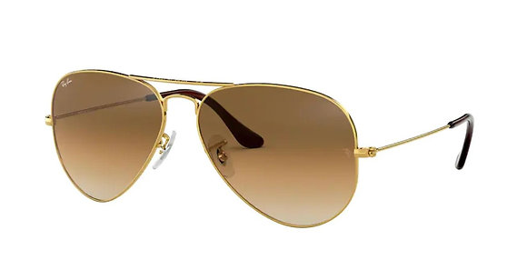 Ray-ban 3025 SOLE 001/51 55 14 135