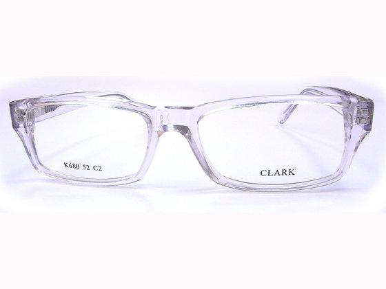 Montatura vista CLARK 680 002 52 16  completo di lenti da vista antiriflesso