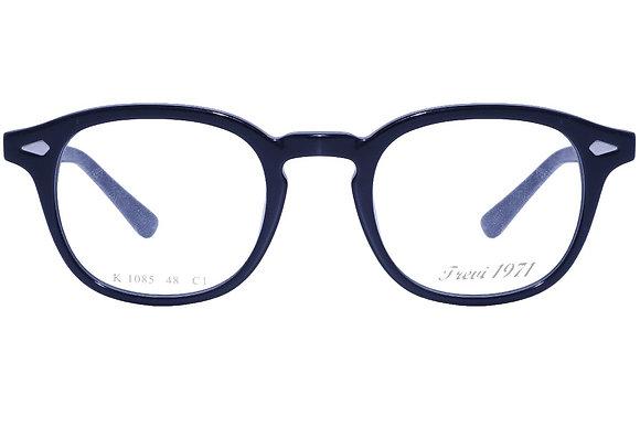 Montatura vista  CLARK 1085  001  48  22  con lenti protezione LUCE BLU