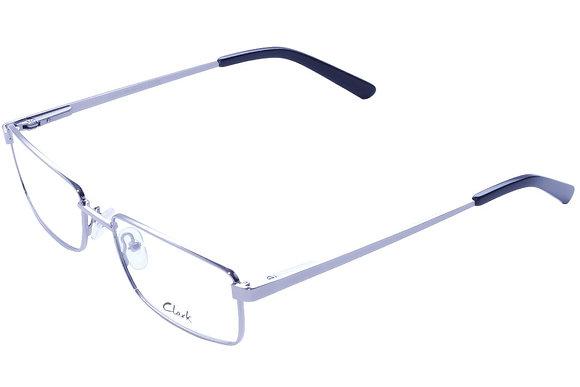 Montatura vista  CLARK 1071  002  54  18  con lenti protezione LUCE BLU