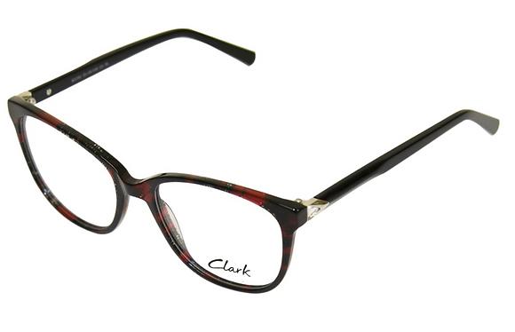 Montatura vista CLARK 1192 004 55 18  completo di lenti da vista antiriflesso