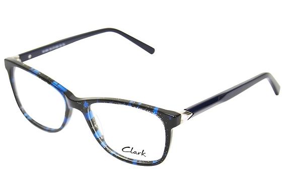 Montatura vista CLARK 1188 004 55 17  completo di lenti da vista antiriflesso
