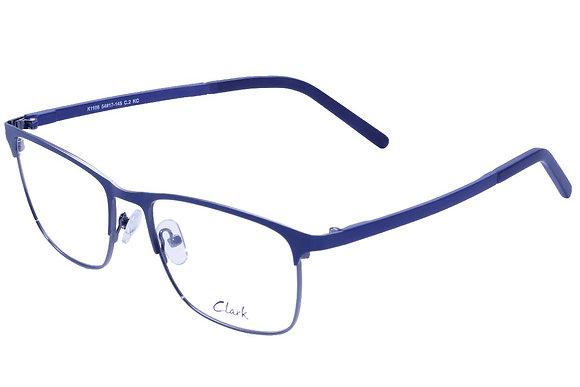 Montatura vista CLARK 1106 002 54 17  completo di lenti da vista antiriflesso