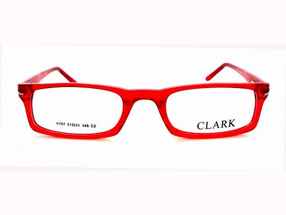 Montatura vista  CLARK 707  002  49  20  con lenti protezione LUCE BLU