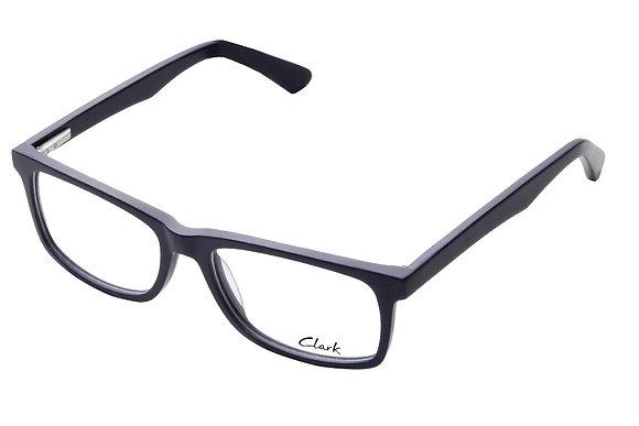 Montatura vista  CLARK 1163  003  53  17  con lenti protezione LUCE BLU