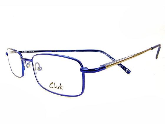 Montatura vista CLARK 990 030 49 19  completo di lenti da vista antiriflesso