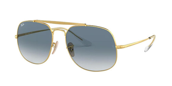 Ray-ban 3561 SOLE 001/3F 57 17 145