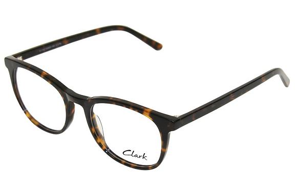 Montatura vista  CLARK 1183  002  52  20  con lenti protezione LUCE BLU