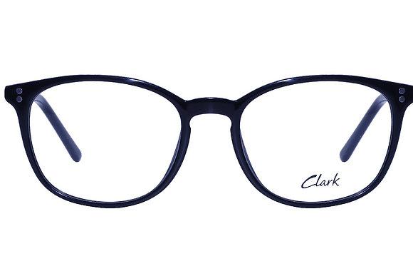 Montatura vista CLARK 1110 001 52 18  completo di lenti da vista antiriflesso