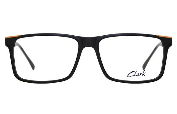 Montatura vista CLARK 1197 001 58 16  completo di lenti da vista antiriflesso