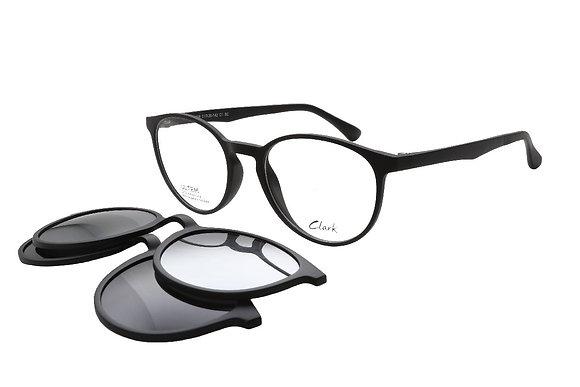Montature vista CLARK 1009 001 51 20 completo di lenti protezione LUCE BLU