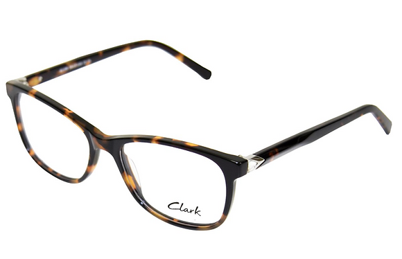 Montatura vista  CLARK 1188  002  55  17  con lenti protezione LUCE BLU