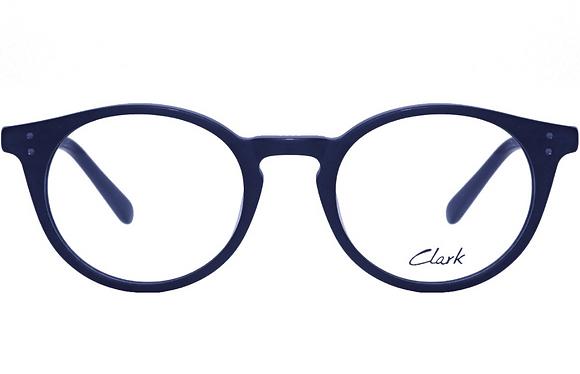 Montatura vista  CLARK 1135  001  45  19  con lenti protezione LUCE BLU
